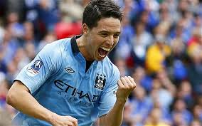 Samir Nasri has 4 goals and 3 assists in 21 games this season. Credit: telegraph.co.uk
