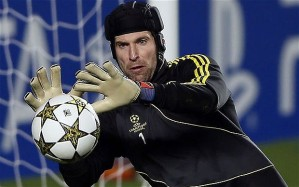 Chelsea goalkeeper Petr Cech has had a fantastic career and continues that career with 71 saves so far this season. Credit: telegraph.co.uk
