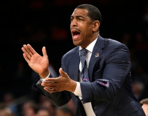 Kevin Ollie led his Connecticut Huskies to an impressive 32-8 record and a 12-6 record in the American Conference. Credit: sportzedge.com