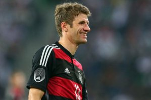 Thomas Muller and Germany will try to win their fourth World Cup Championship against Argentina. Credit: www.dailystar.co.uk