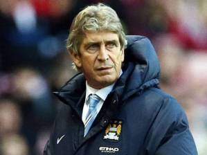 In his first season as manager, Manuel Pellegrini led Manchester City to the league title with a record of 27-6-5. Credit: www.independent.co.uk
